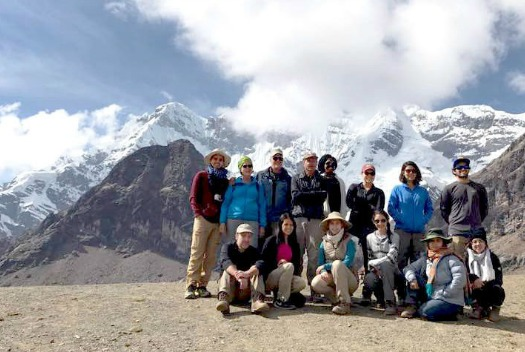 UTRGV students in Peru