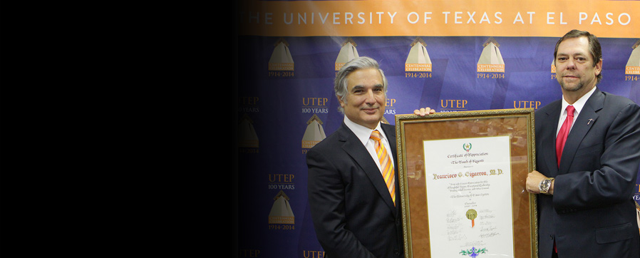 Chancellor Cigarroa honored for his leadership and service