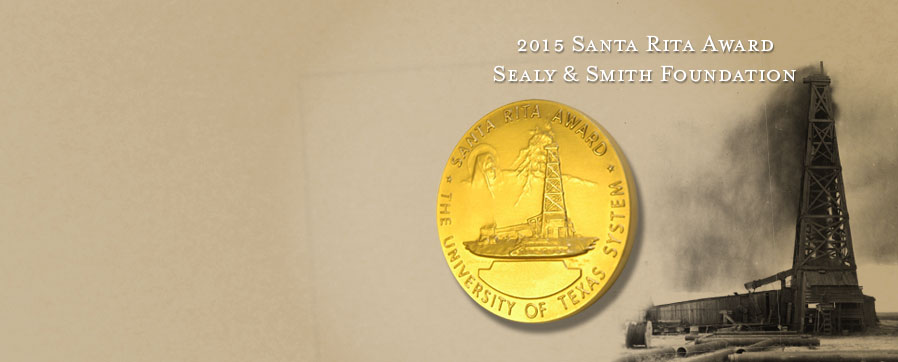 Sealy & Smith Foundation honored for altruism with Board of Regents' Santa Rita Award