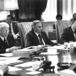 Photograph from a 1979 Board Meeting