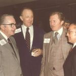 Chairman Shivers and other guests at a dinner honoring Congressman Ford